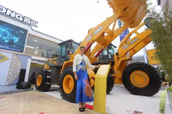 JINGONG Brilliant Show at Shanghai Bauma Exhibition 2016