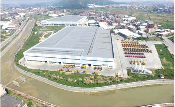 The company invested in the Technology Park for annual production of 10,000 loaders and 5,000 excavators.